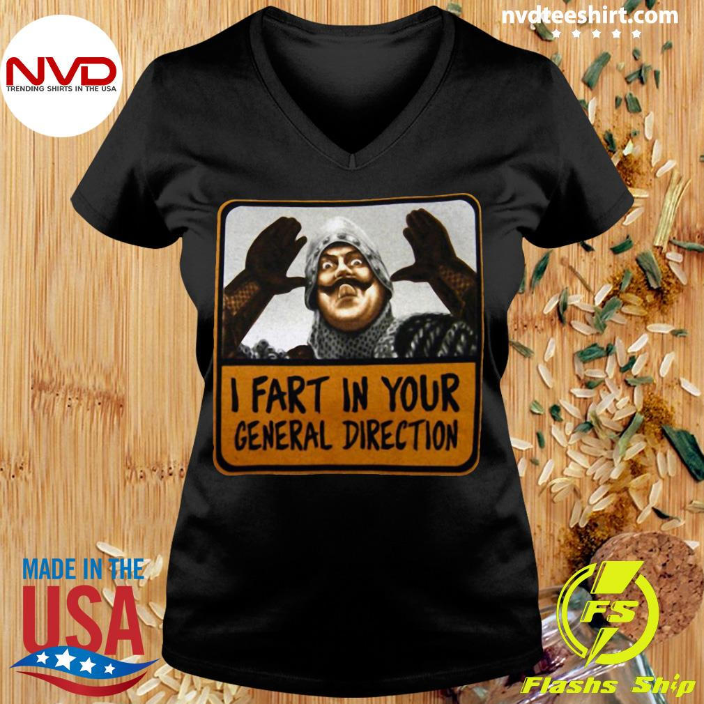 Official Monty Python I Fart In Your General Direction T-s Ladies tee