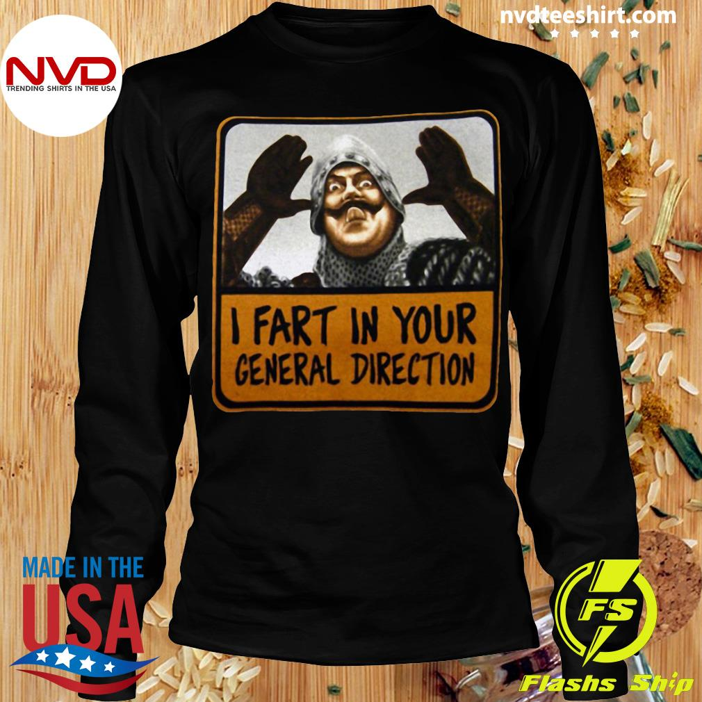 Official Monty Python I Fart In Your General Direction T-s Longsleeve