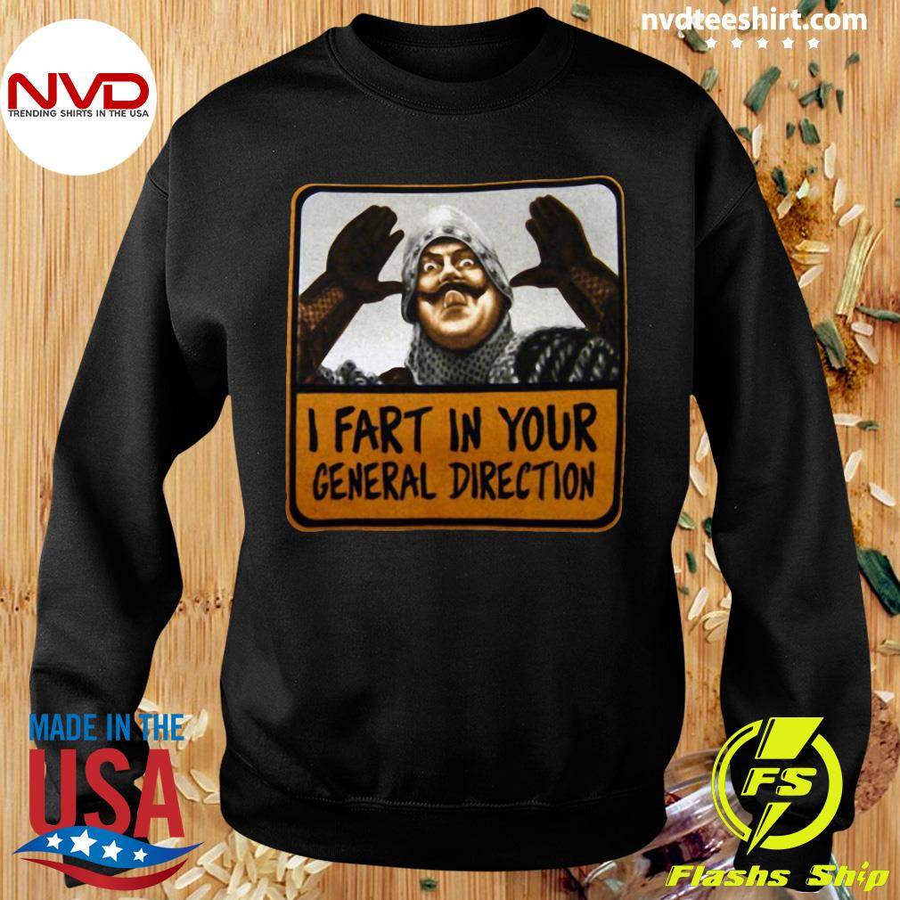 Official Monty Python I Fart In Your General Direction T-s Sweater