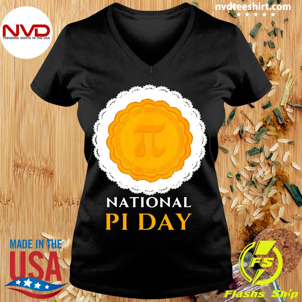 Official National Pi Day 3.14.2021 Pie Casual Novelty Gift Pullover T-s Ladies tee