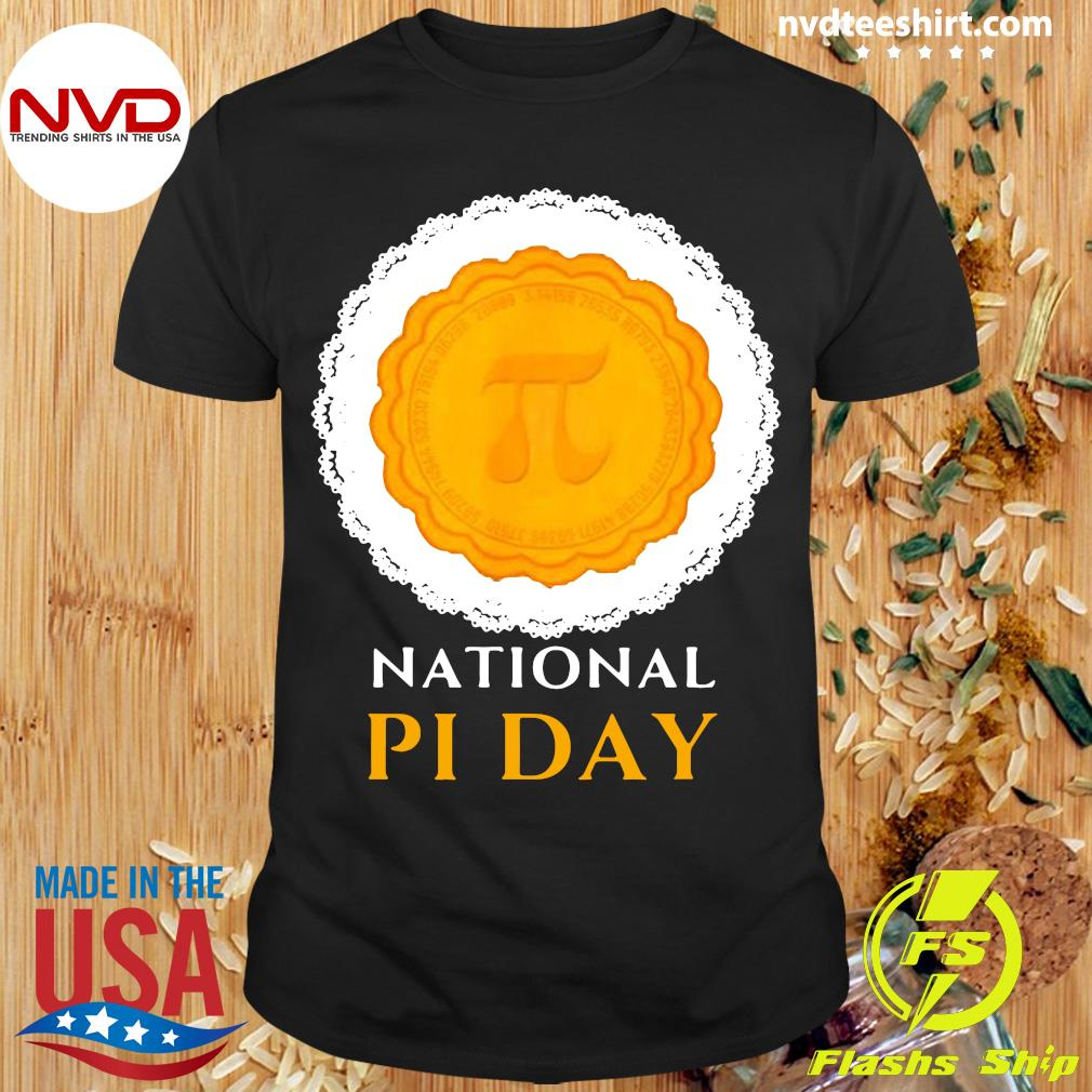 Official National Pi Day 3.14.2021 Pie Casual Novelty Gift Pullover T-shirt