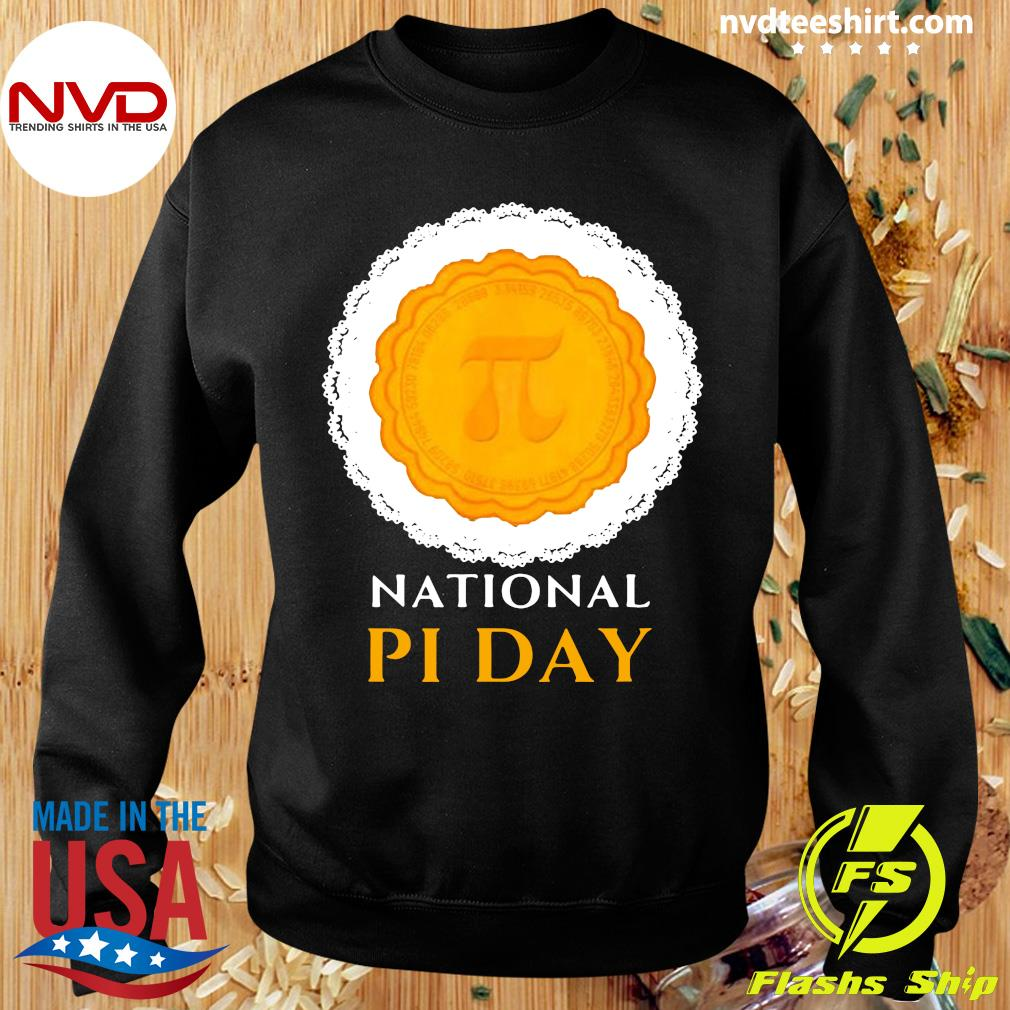 Official National Pi Day 3.14.2021 Pie Casual Novelty Gift Pullover T-s Sweater