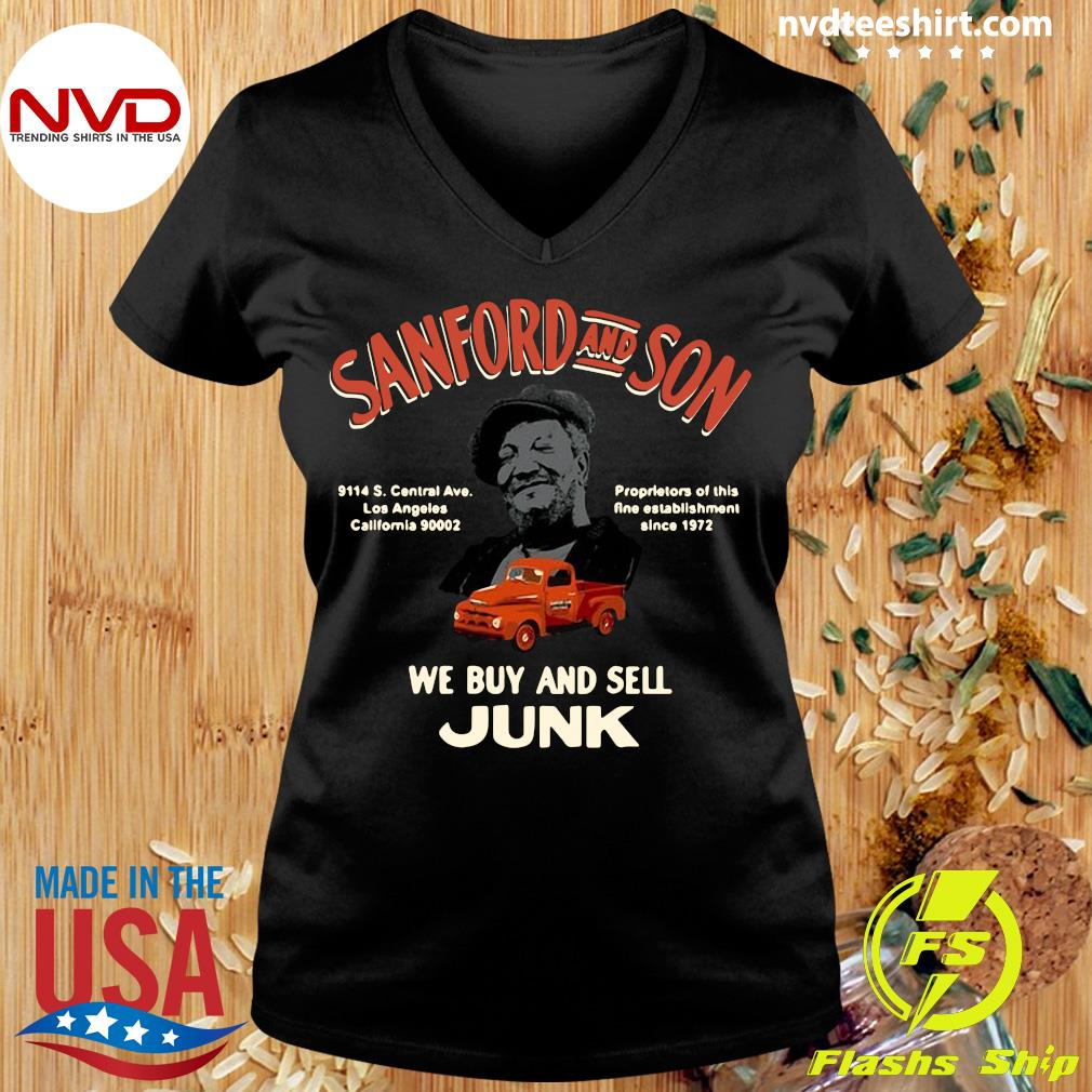 Official Sanford And Son South Central California We Buy And Sell Junk T-s Ladies tee