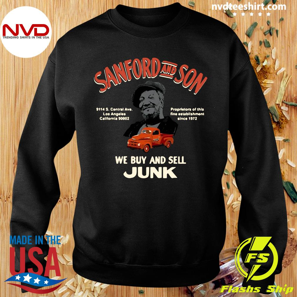 Official Sanford And Son South Central California We Buy And Sell Junk T-s Sweater