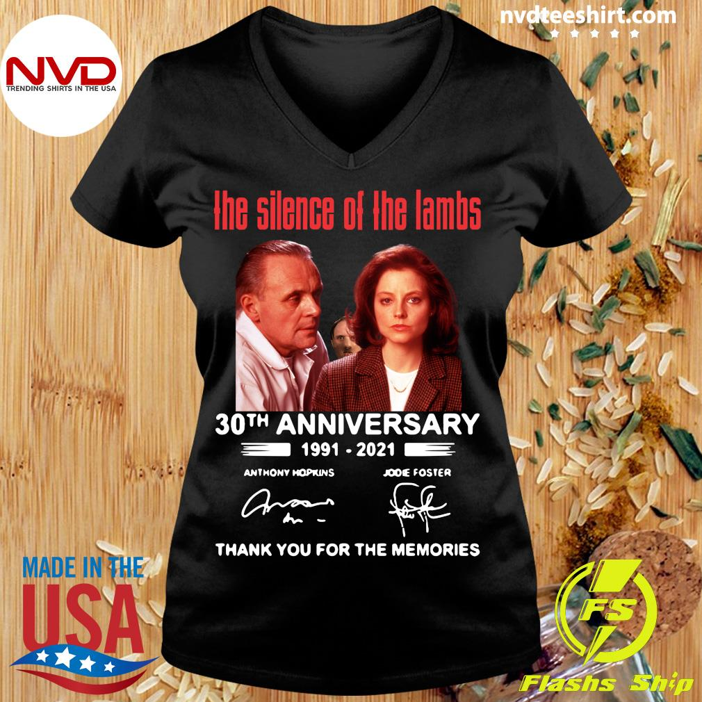Official The Silence Of The Lambs 30th Anniversary 1991 2021 Thank You For The Memories T-s Ladies tee