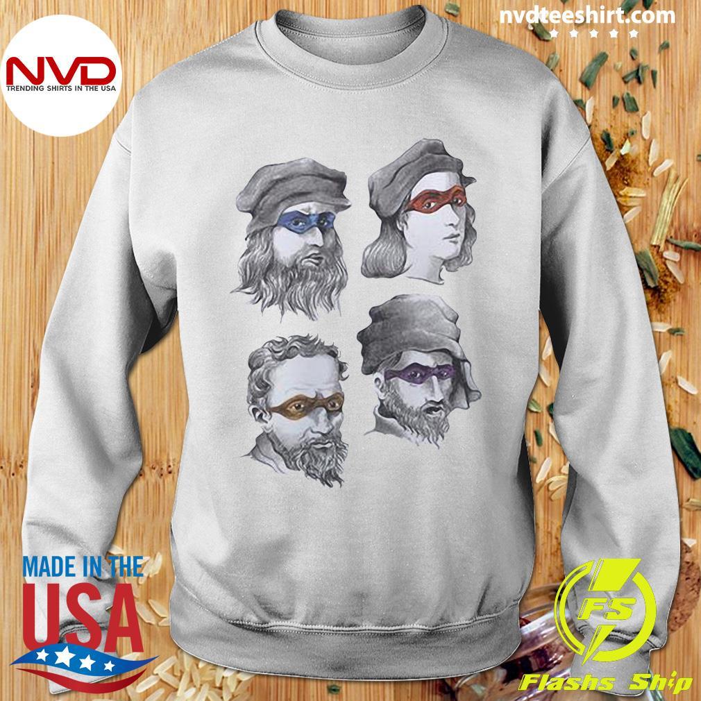 Official Tmnt Renaissance Thong T-s Sweater