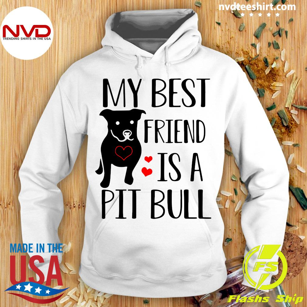 Funny Pitbull My Best Friend Is A Pit Bull T-s Hoodie