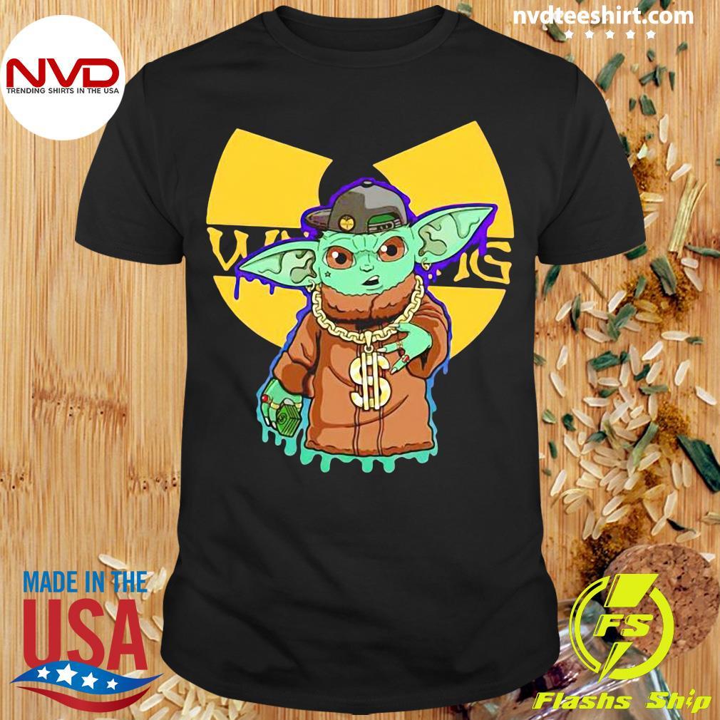 Official Baby Yoda Wu Tang Clan T-shirt