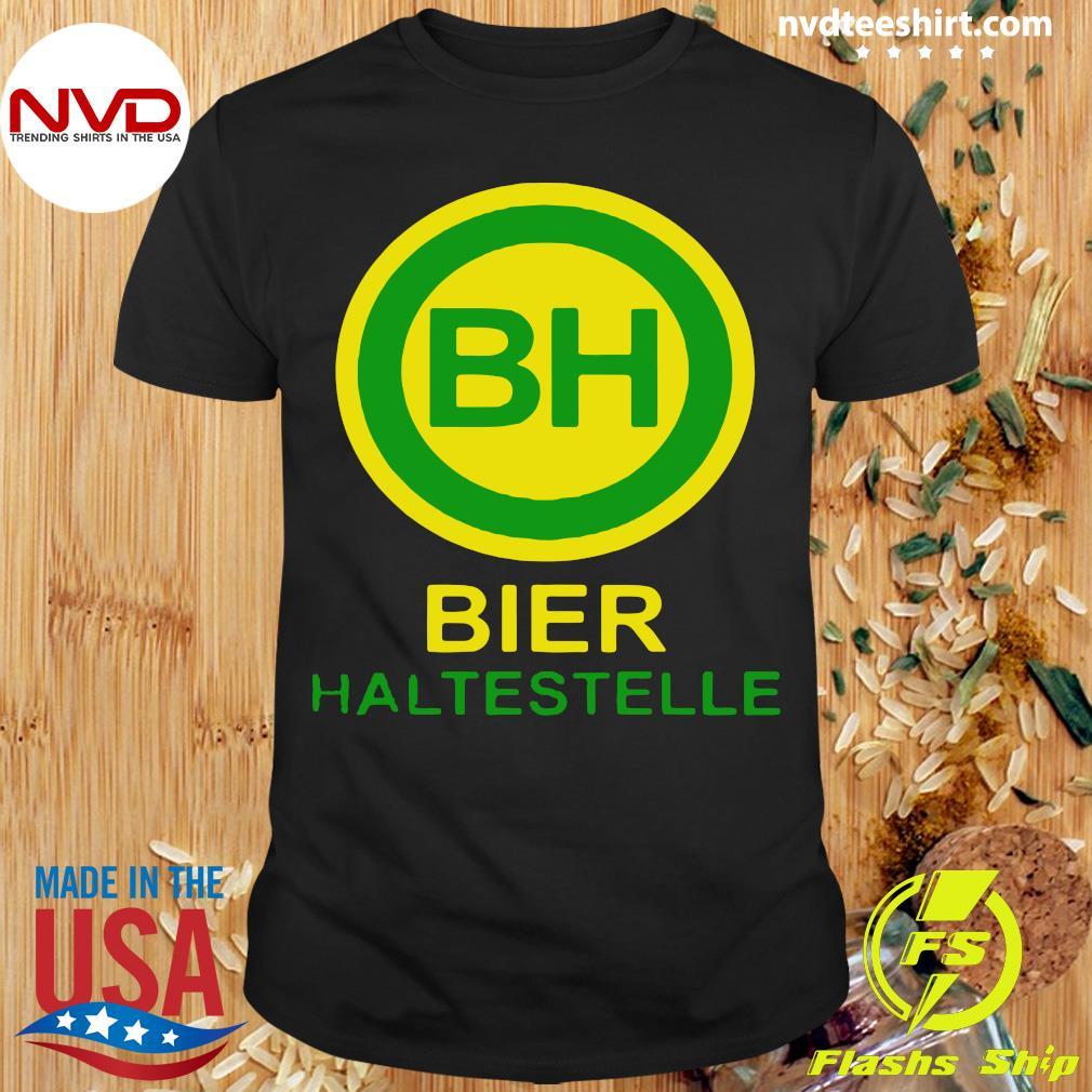 Official Bier Haltestelle T-shirt