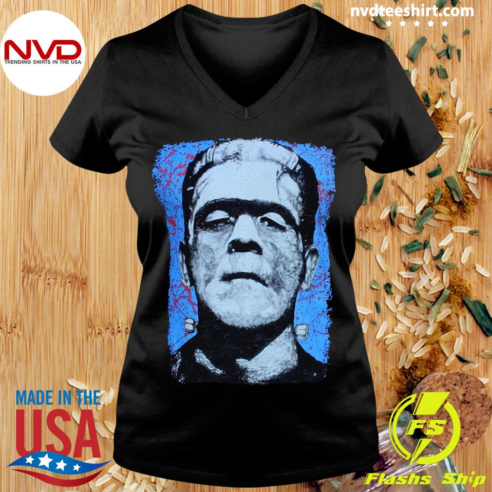 Official Frank N. Stein Man Tee By Lowbrow Art Company T-s Ladies tee