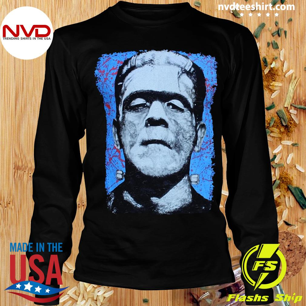 Official Frank N. Stein Man Tee By Lowbrow Art Company T-s Longsleeve