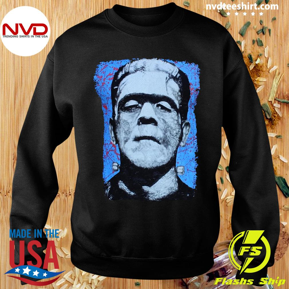 Official Frank N. Stein Man Tee By Lowbrow Art Company T-s Sweater