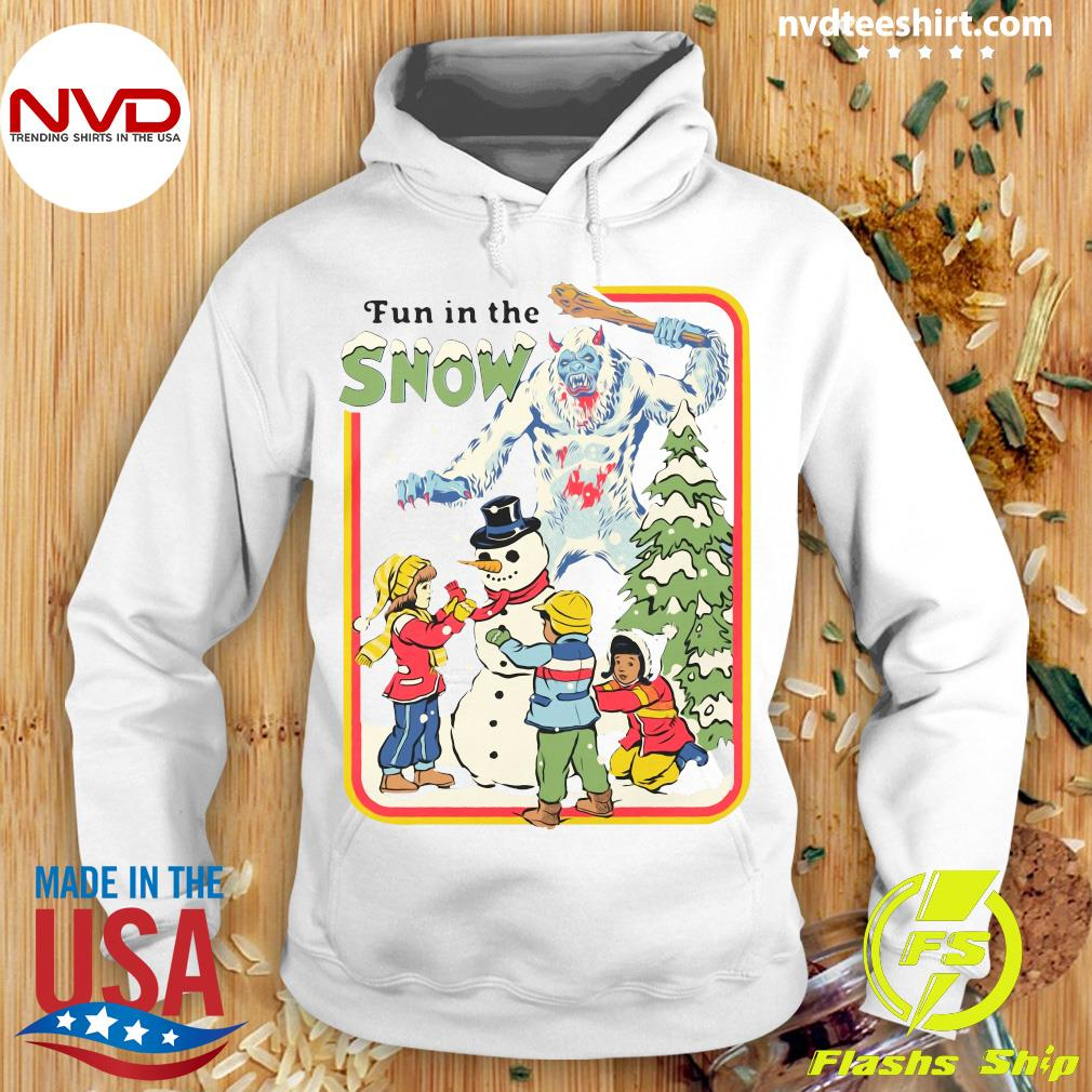Official Fun In The Snow T-s Hoodie