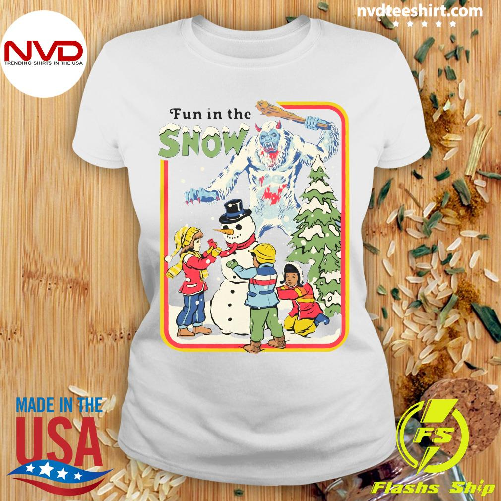 Official Fun In The Snow T-s Ladies tee