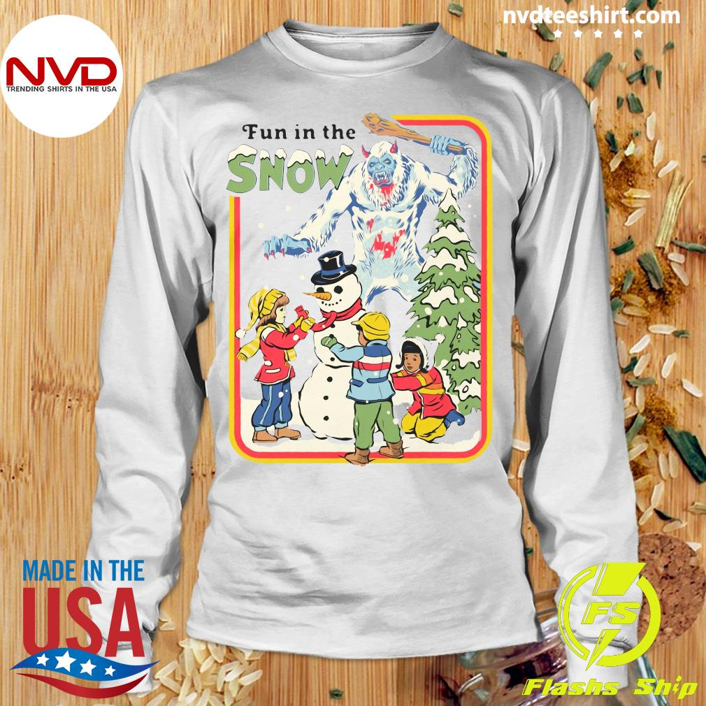 Official Fun In The Snow T-s Longsleeve