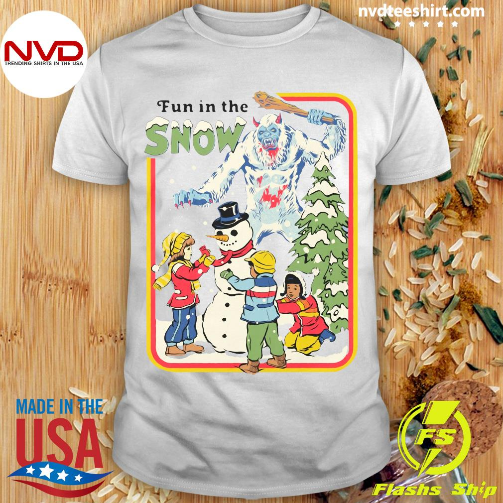Official Fun In The Snow T-shirt
