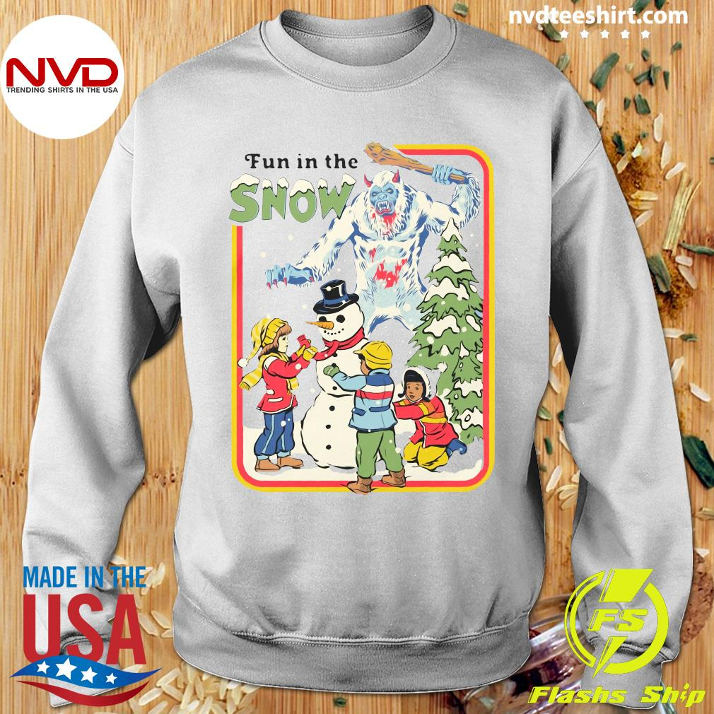 Official Fun In The Snow T-s Sweater