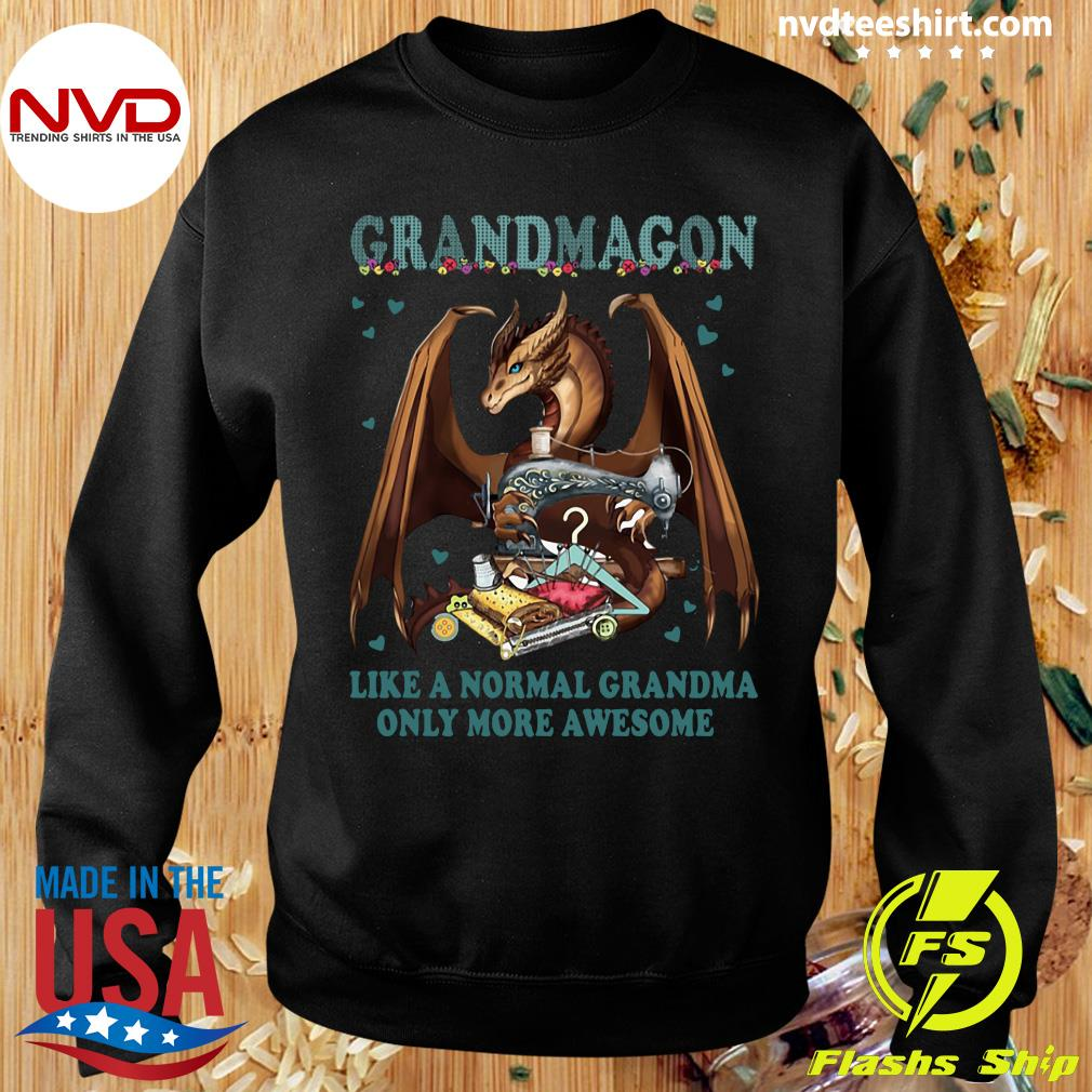 Official Grandmagon On Like Normal Grandma Only More Awesome T-s Sweater