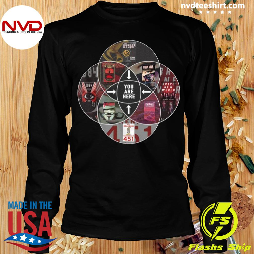 Official Hunger Games You Are Here T-s Longsleeve