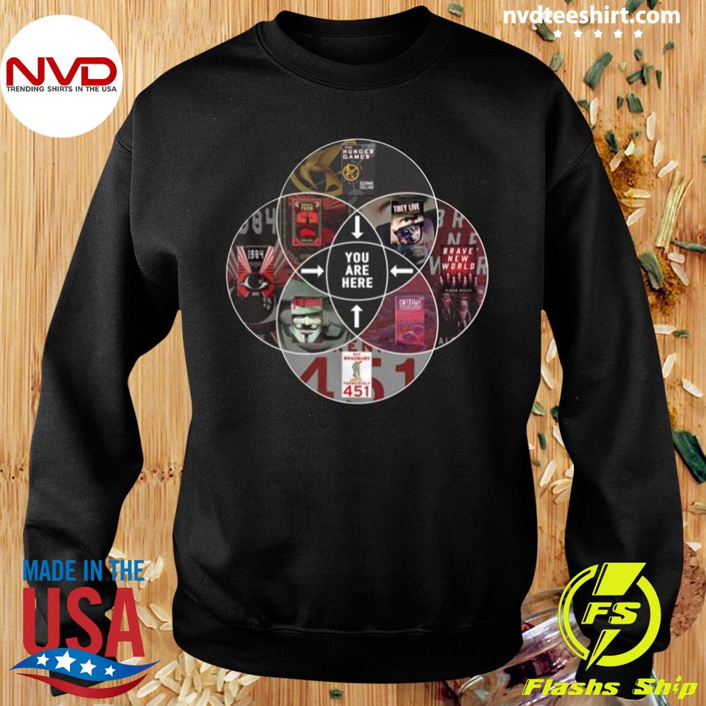 Official Hunger Games You Are Here T-s Sweater