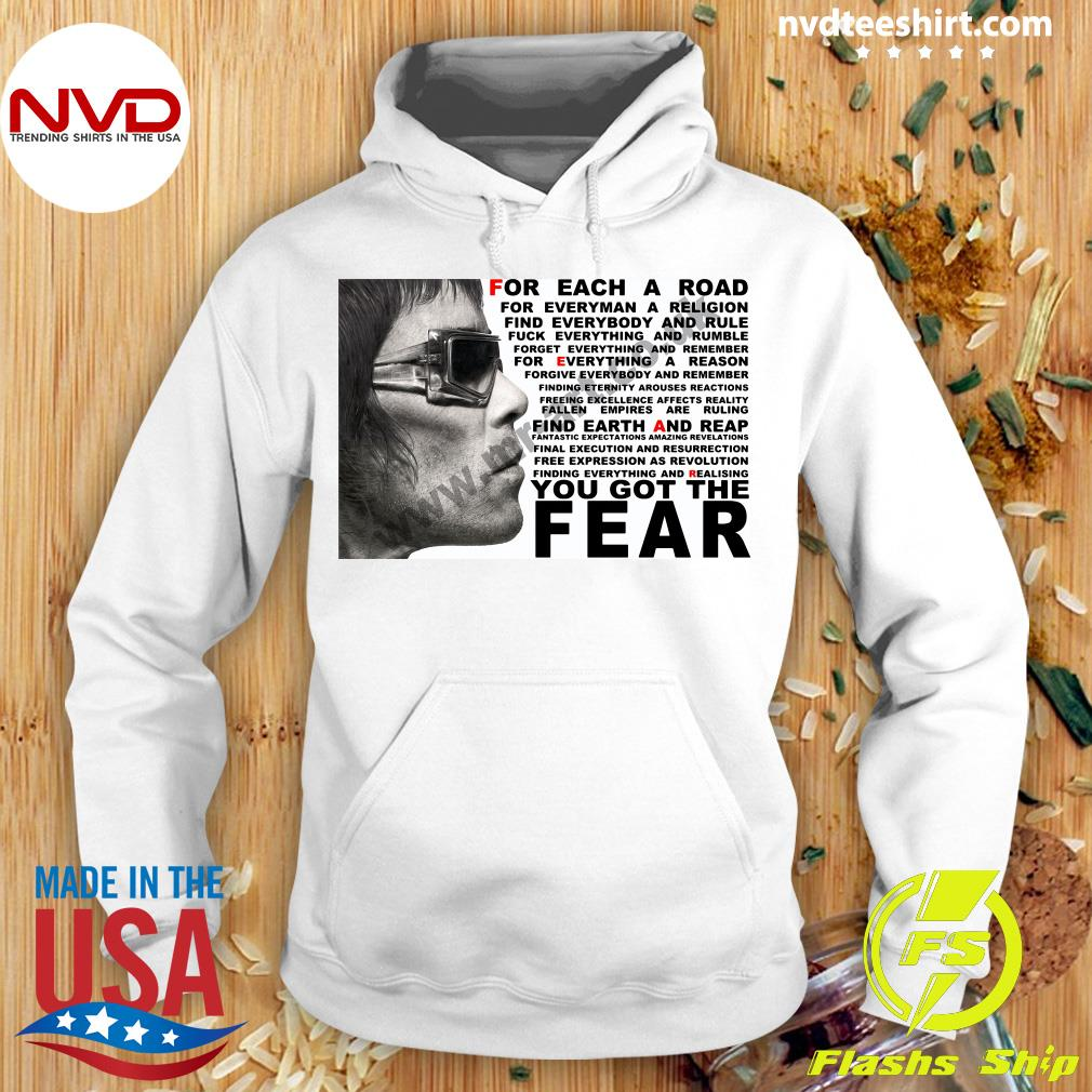 Official Ian Brown For Each A Road You Got The Fear T-s Hoodie