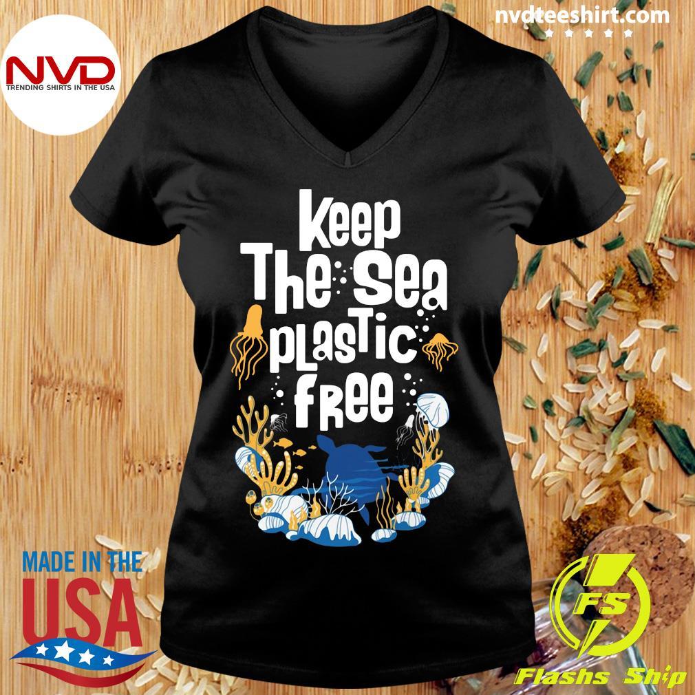 Official Keep The Sea Plastic Free T-s Ladies tee