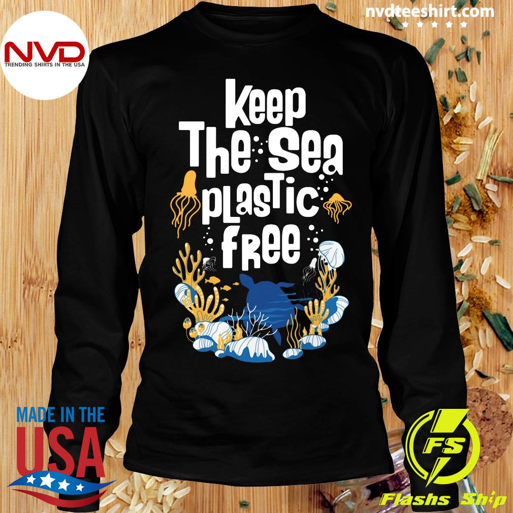 Official Keep The Sea Plastic Free T-s Longsleeve