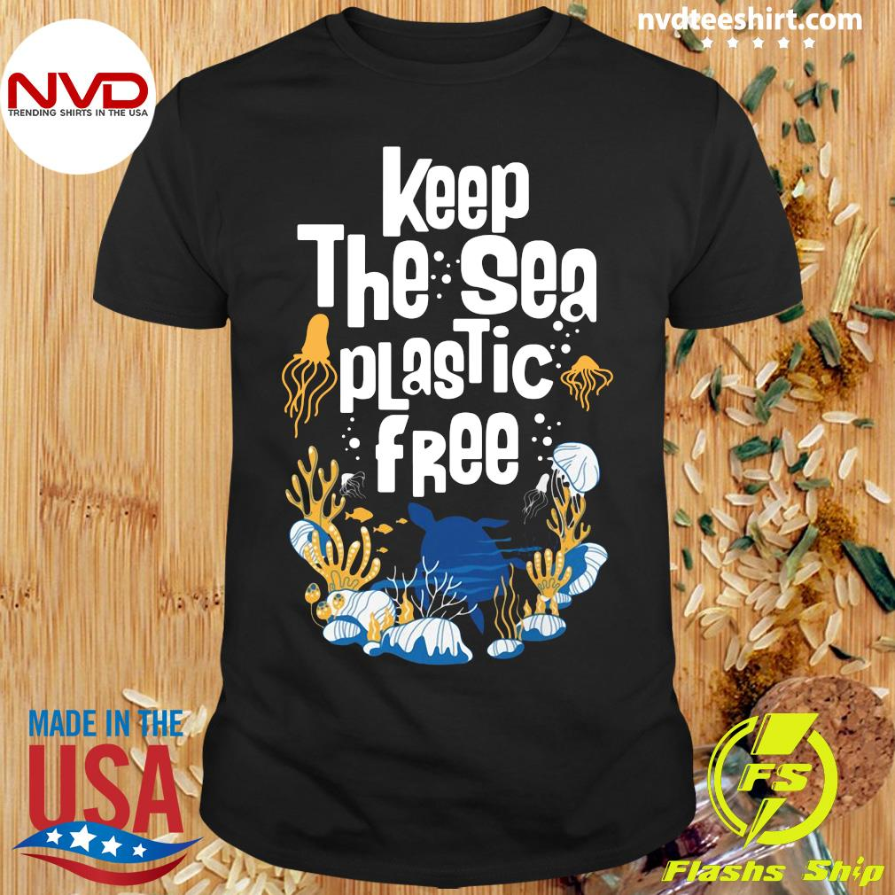 Official Keep The Sea Plastic Free T-shirt