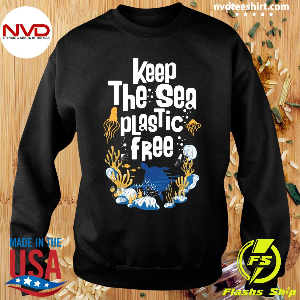 Official Keep The Sea Plastic Free T-s Sweater