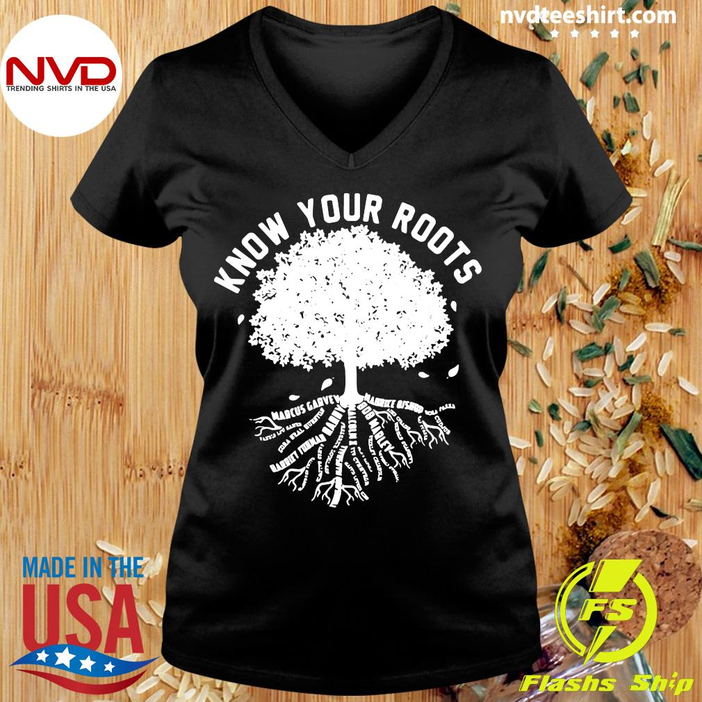 Official Know Your Roots T-s Ladies tee