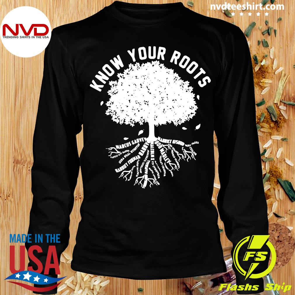 Official Know Your Roots T-s Longsleeve