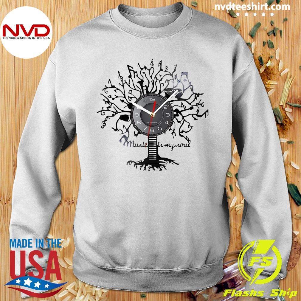 Official Music Is My Soul Tree Wall Clock T-s Sweater