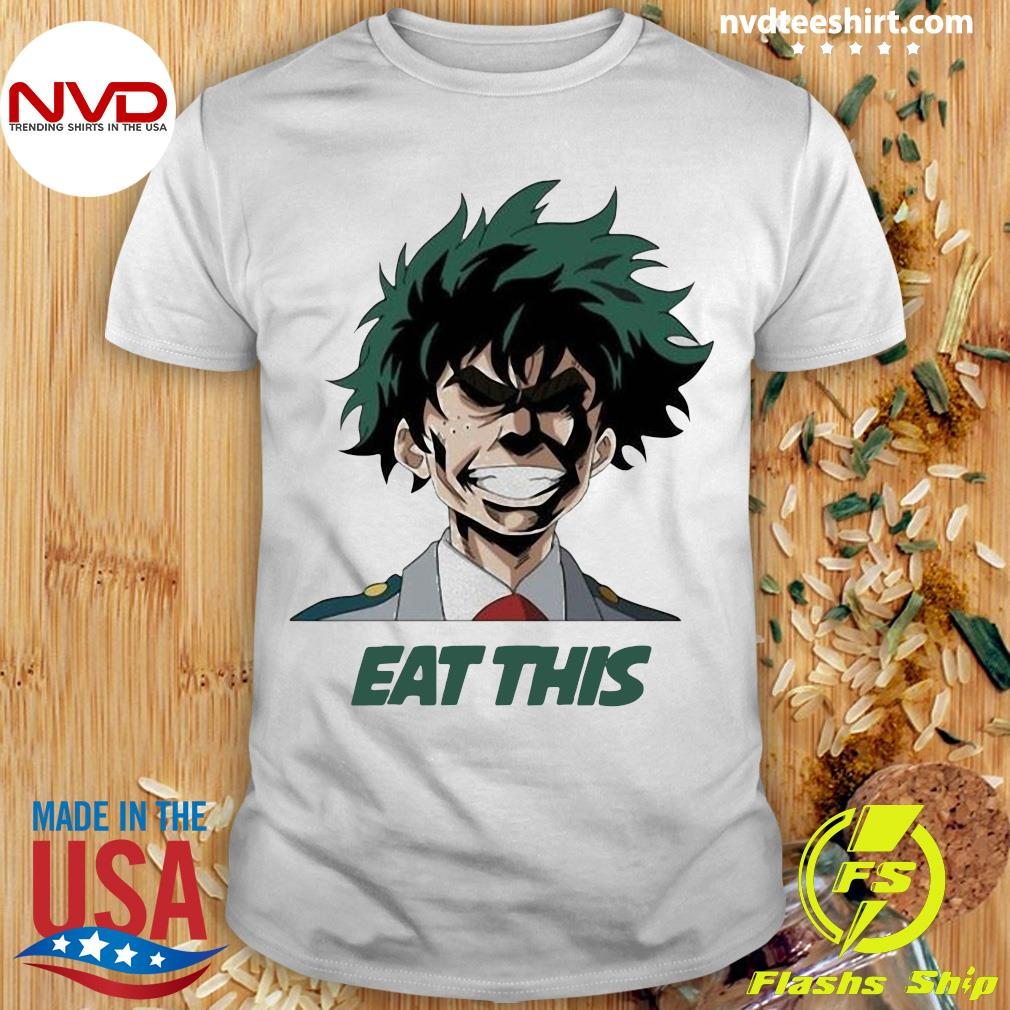 Official My Hero Academia Eat This T-shirt