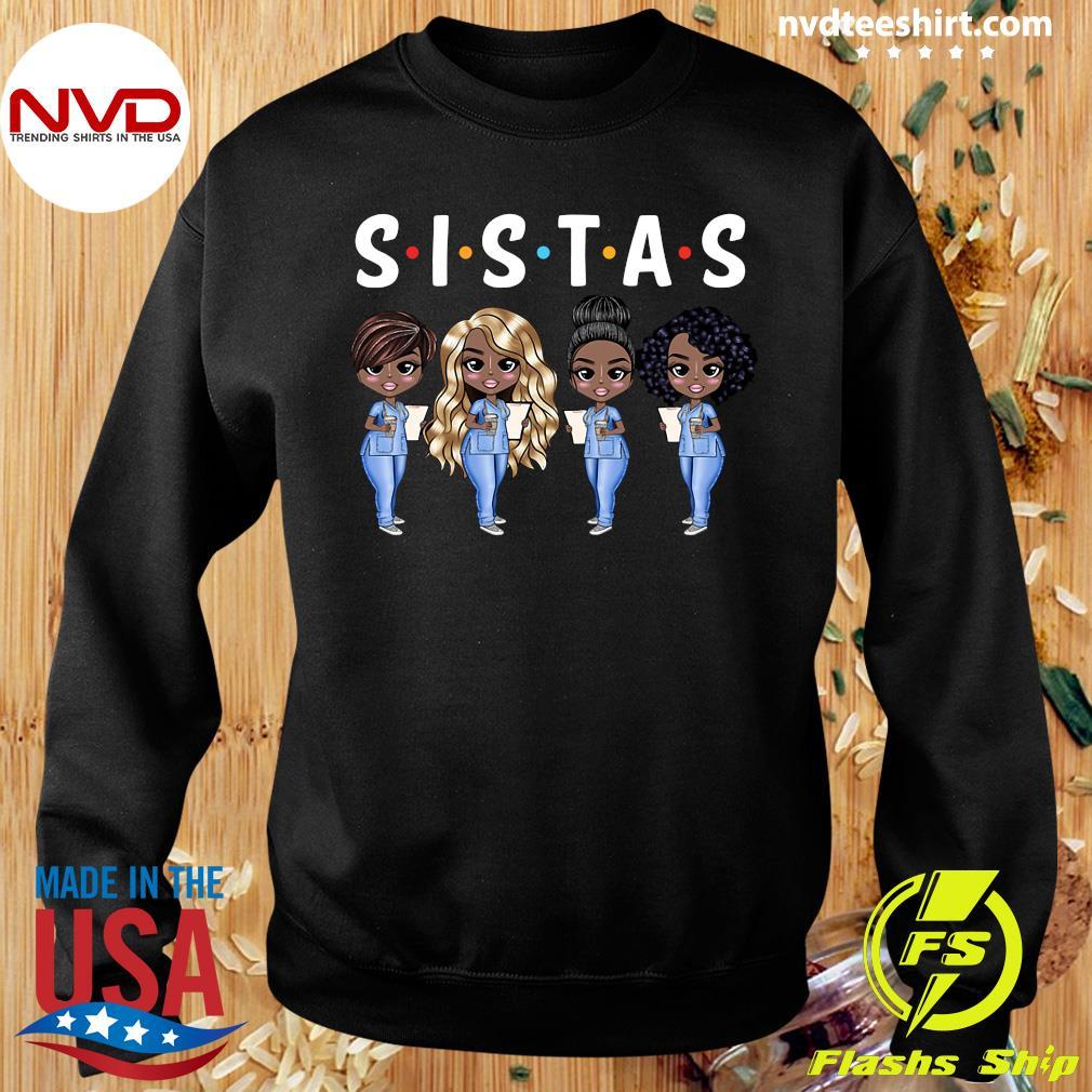 Official Nurse Sistas T-s Sweater