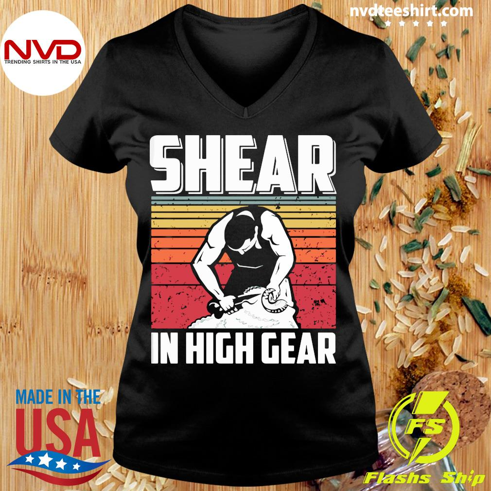 Official Shear In High Gear Vintage T-s Ladies tee