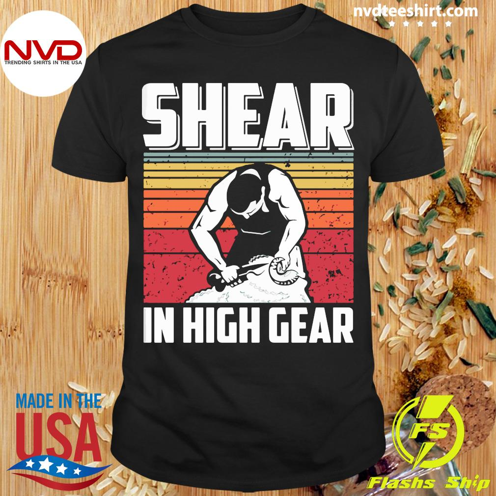Official Shear In High Gear Vintage T-shirt