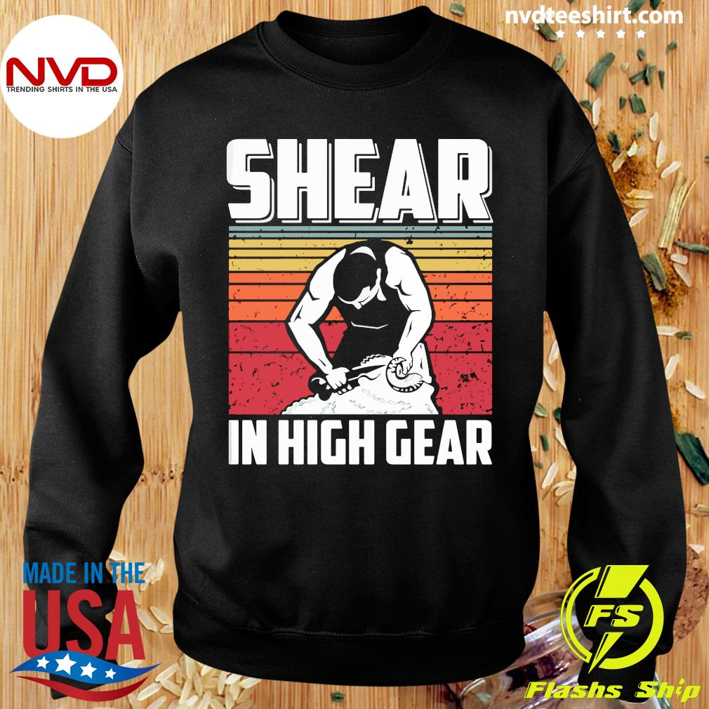 Official Shear In High Gear Vintage T-s Sweater