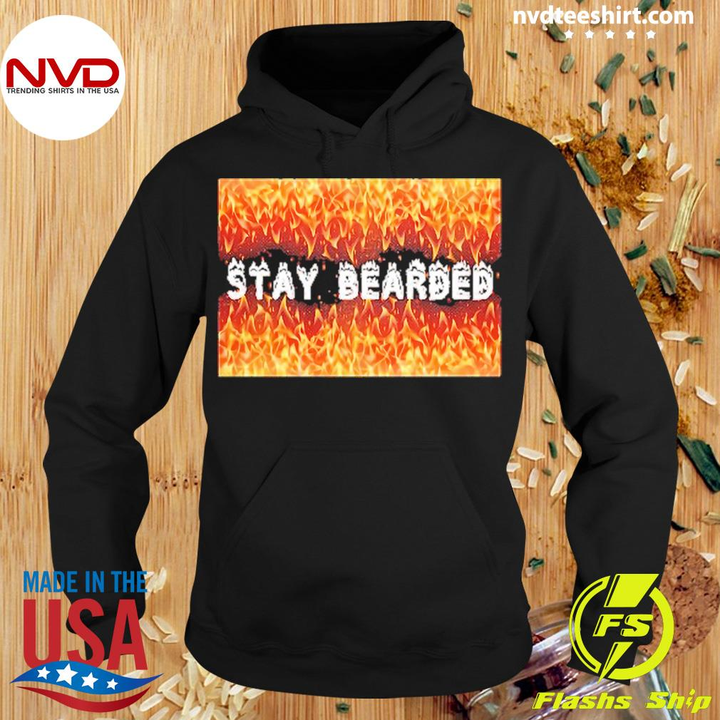 Official Stay Bearded Vintage T-s Hoodie
