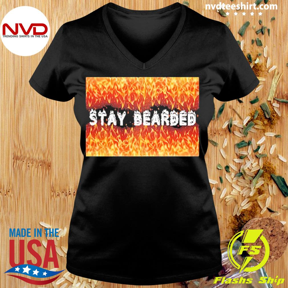 Official Stay Bearded Vintage T-s Ladies tee
