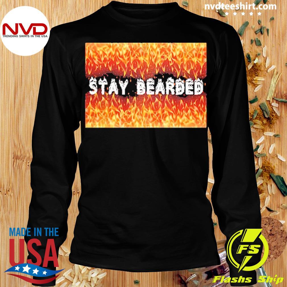 Official Stay Bearded Vintage T-s Longsleeve