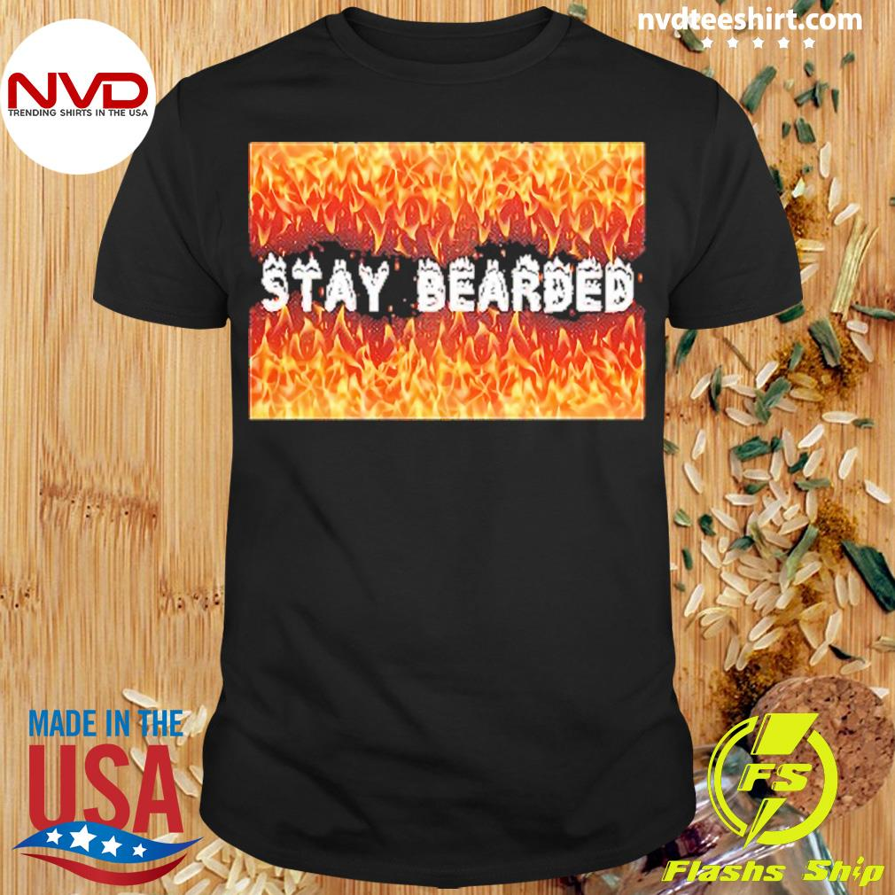 Official Stay Bearded Vintage T-shirt