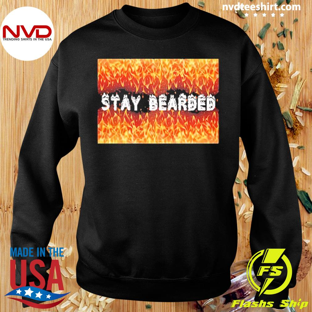 Official Stay Bearded Vintage T-s Sweater