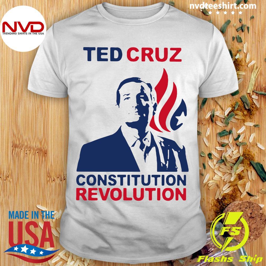 Official Ted Cruz Constitutional Revolution T-shirt