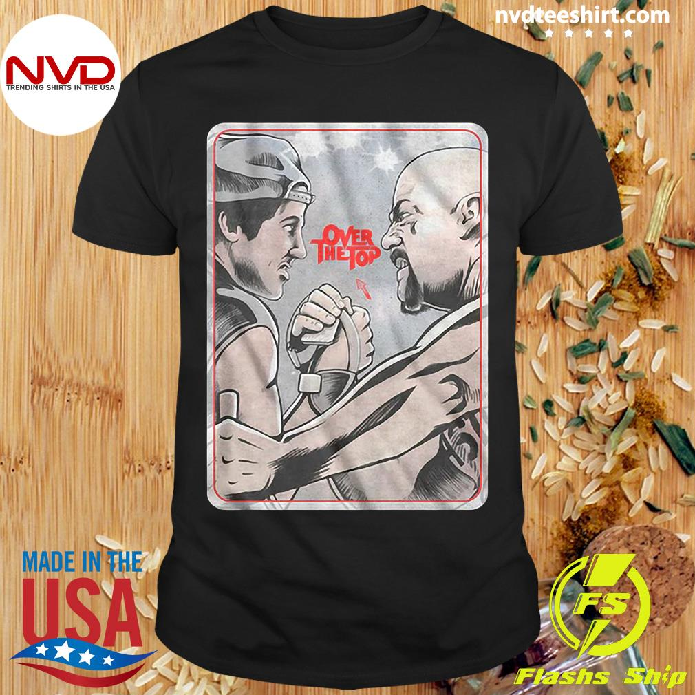 Official Lincoln Hawk vs Bull Hurley Over The Top Shirt