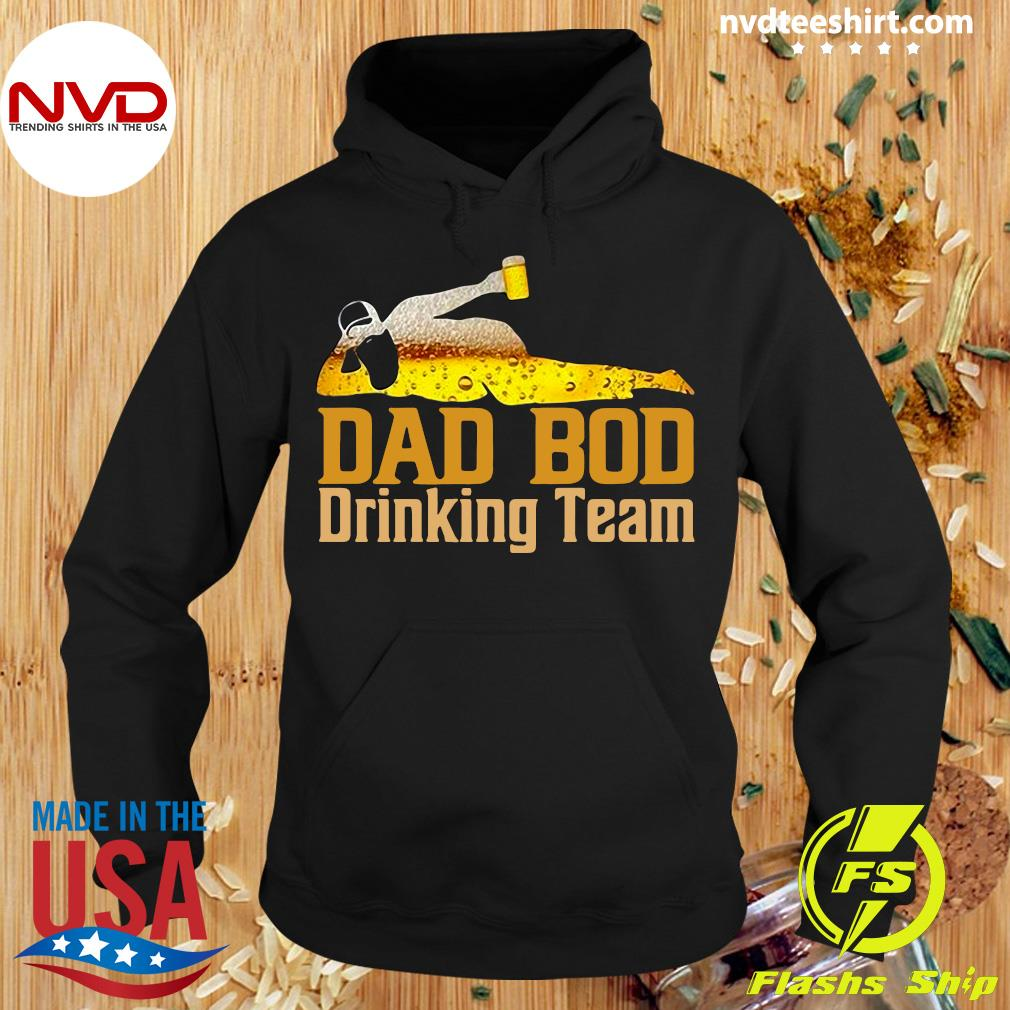 Official Dad Bod Drinking Team Father Beer Drinker T-s Hoodie