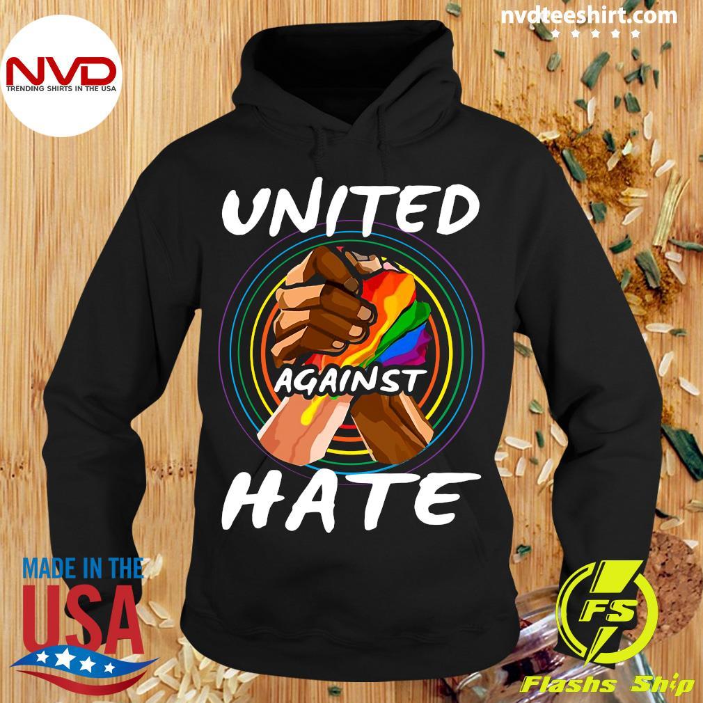 Official United Against Hate Vintage T-s Hoodie