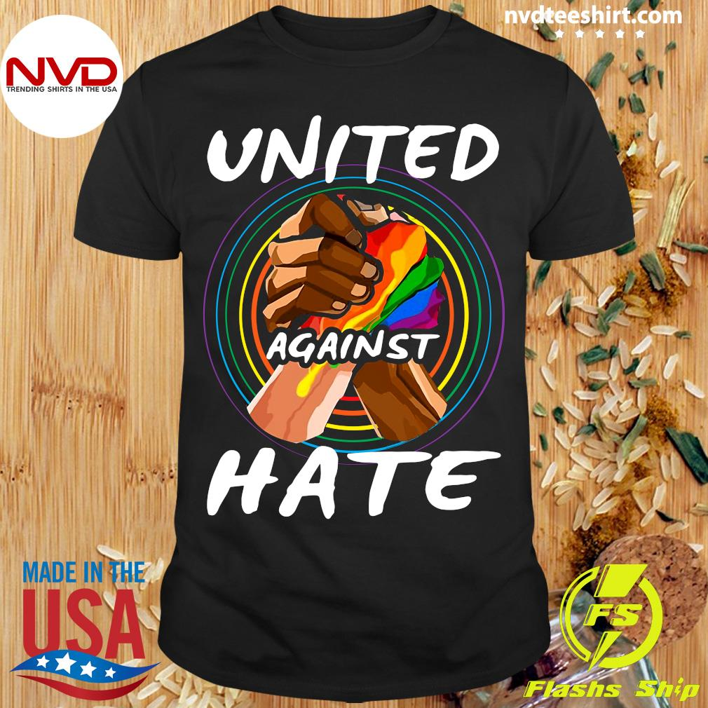 Official United Against Hate Vintage T-shirt
