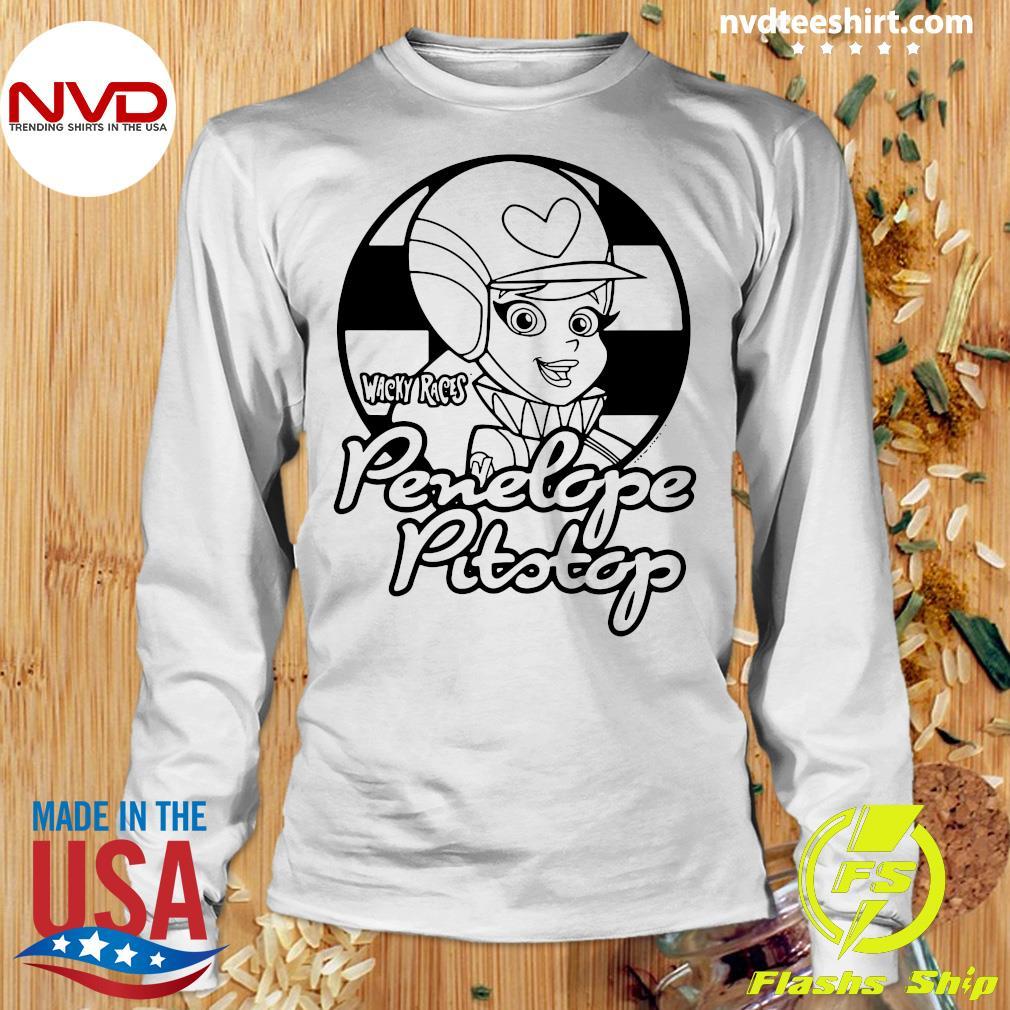 Penelope T-shirt Pit Stop Homme à Manches Longues