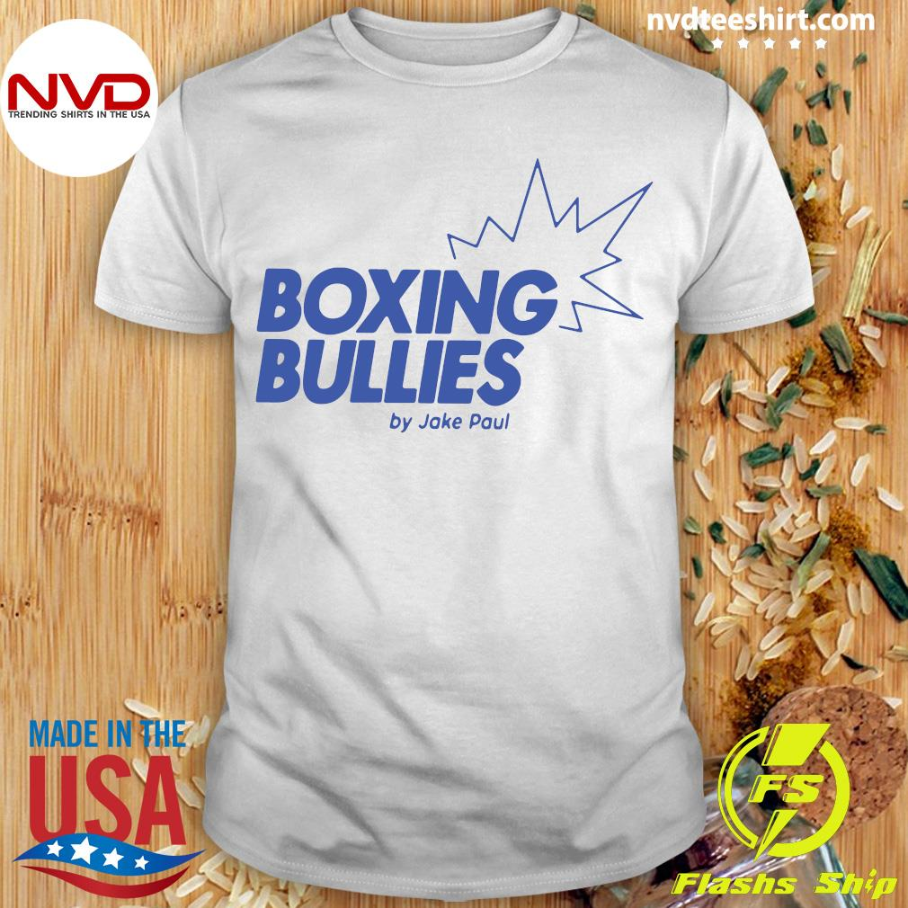 Official Boxing Bullies By Jake Paul T-shirt