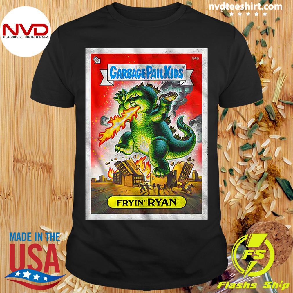 Official Fryin' Ryan Garbage Pail Kids T-shirt